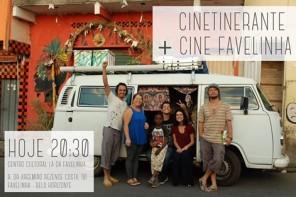 | CINE ETINERANTE | Estréia Lá da Favelinha